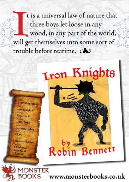 A4 press ad for Iron Knights in Gardners trade magazine