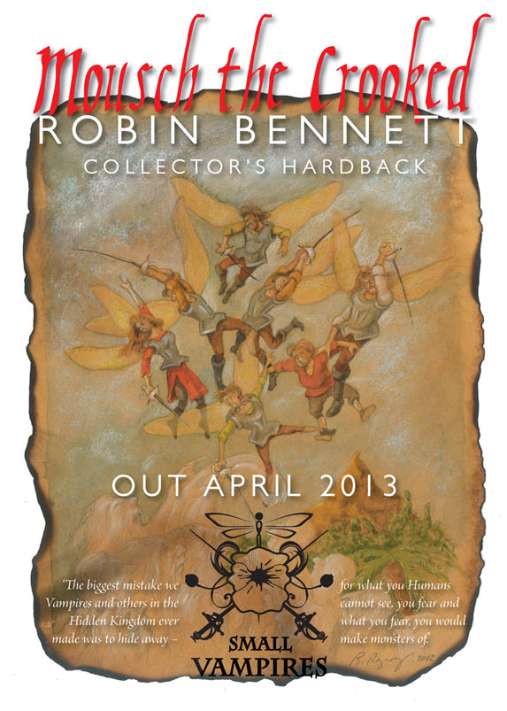 Robin Bennett - author tour poster
